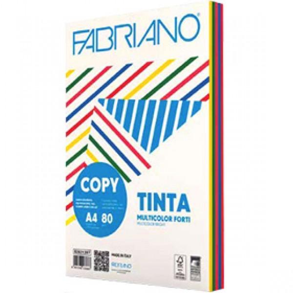 Цветная бумага Fabriano Copy Tinta A4 250 листов 5 цветов