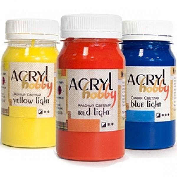 Акриловые краски ТАИР «Акрил-Хобби» 100мл поштучно