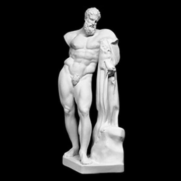 Фигура Геракла из гипса