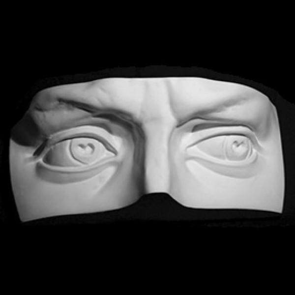 Глаза Давида из гипса