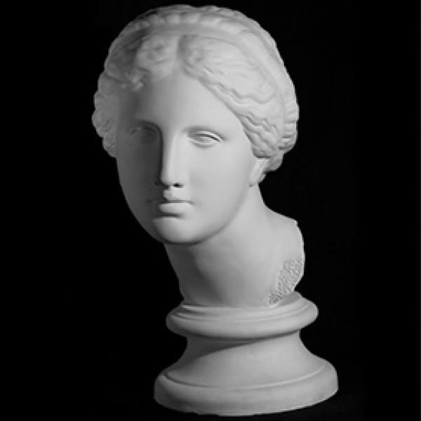 Голова Афродиты Книдской из гипса