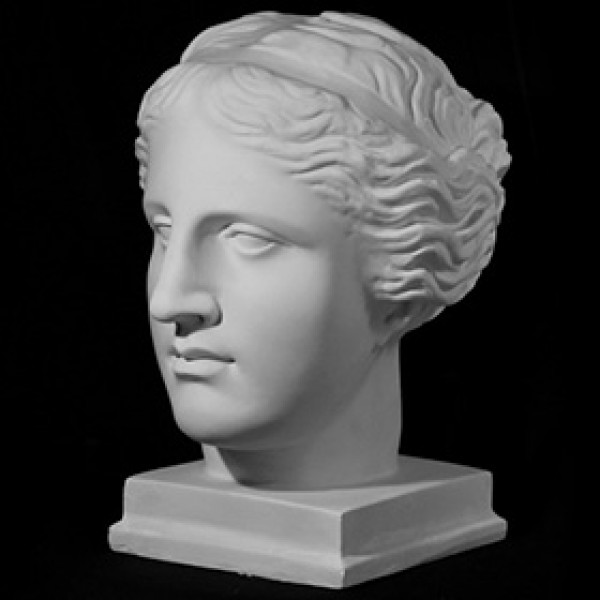 Голова Венеры Милосской из гипса