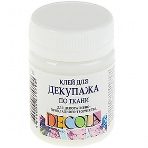 """Клей для декупажа по ткани """"Decola"""" 50мл"""