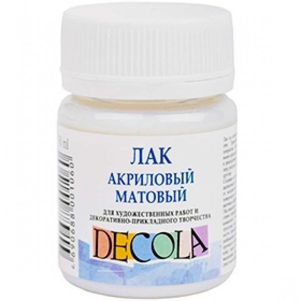 """Лак акриловый матовый """"Decola"""" 50мл"""