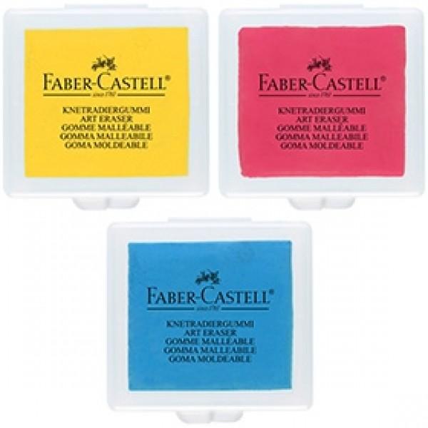 """Ластик клячка Faber-Castell """"1273"""" цветной"""