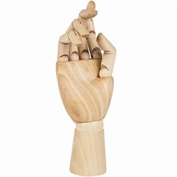 """Манекен для рисования рука женская правая """"BRAUBERG"""" 25 см"""