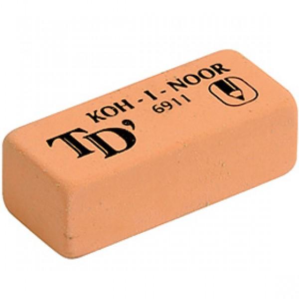 "Мягкий ластик для рисунка Koh-I-Noor ""Toison D'or"" 6911 49*21*16 мм"