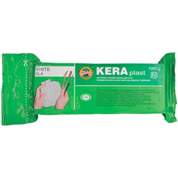 """Моделитная паста Koh-I-Noor """"KERAplast"""" белая, 1000 гр"""