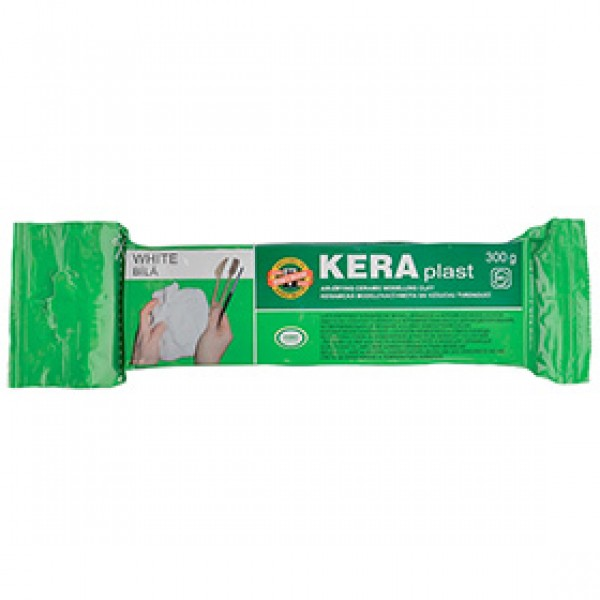"""Моделитная паста Koh-I-Noor """"KERAplast"""" белая, 300 гр"""