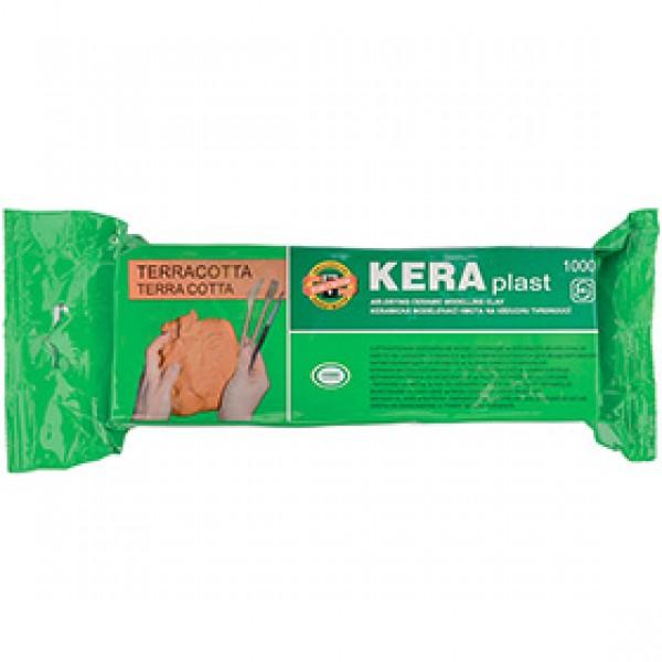 """Моделитная паста Koh-I-Noor """"KERAplast"""" терракотовая, 1000 гр"""