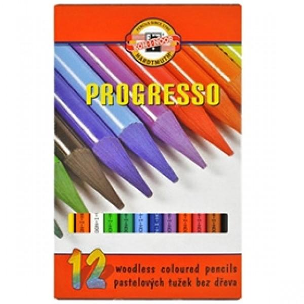 """Набор цветных карандашей Koh-I-Noor """"PROGRESSO"""" 12 цветов"""