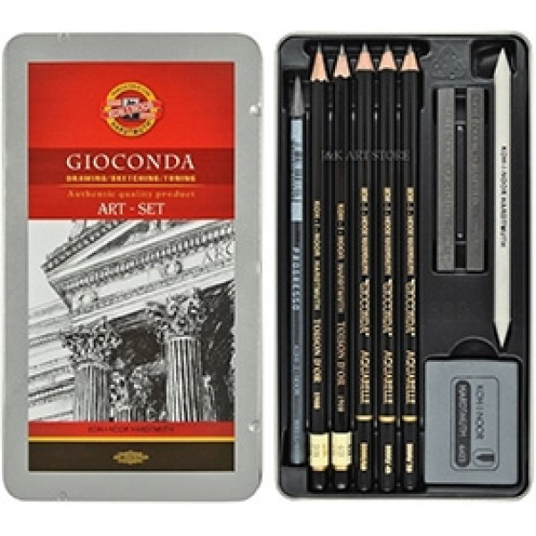 "Набор для графики Koh-I-Noor ""Gioconda Art Set"" 10 предметов"