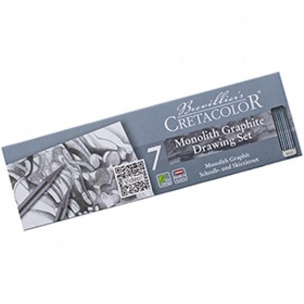 """Набор для набросков Cretacolor """"Monolit Graphite Set"""" 7 предметов"""