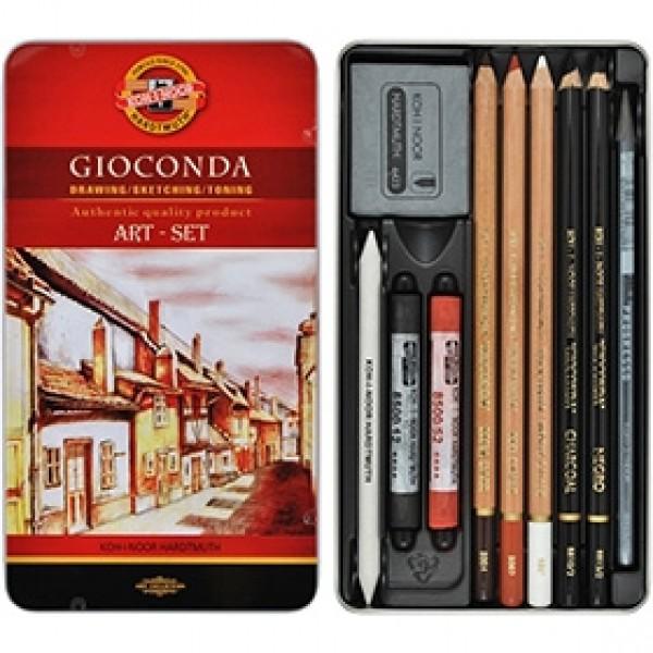"""Набор для рисования Koh-I-Noor """"Gioconda Art Set"""" 10 предметов"""