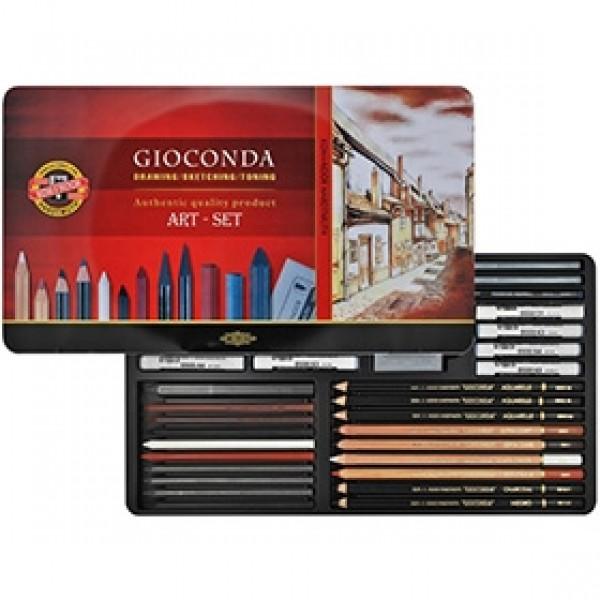 """Набор для рисования Koh-I-Noor """"Gioconda Art Set"""" 39 предметов"""
