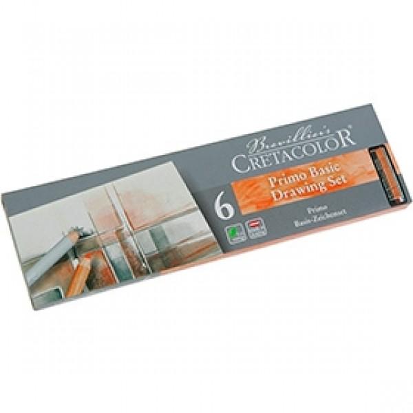 """Набор карандашей для эскизов Cretacolor """"Basic Drawing Set"""" 6шт"""