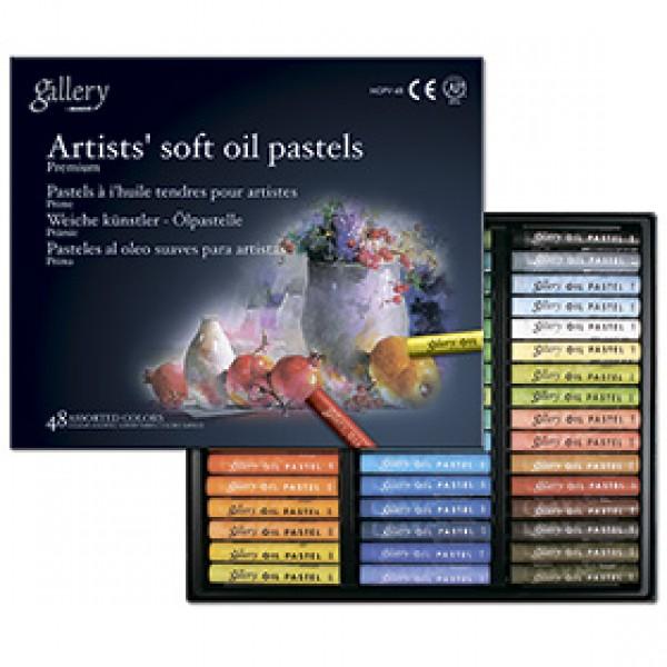 Набор масляной пастели Mungyo Artists Gallery Soft Oil Pastels 48 цветов
