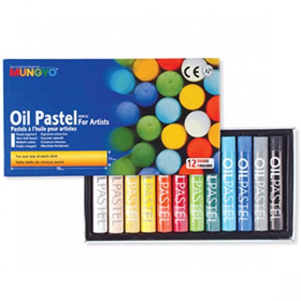 Набор масляной пастели Mungyo Oil Pastels 12 цветов