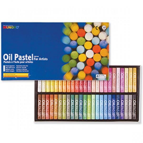 Набор масляной пастели Mungyo Oil Pastels 48 цветов