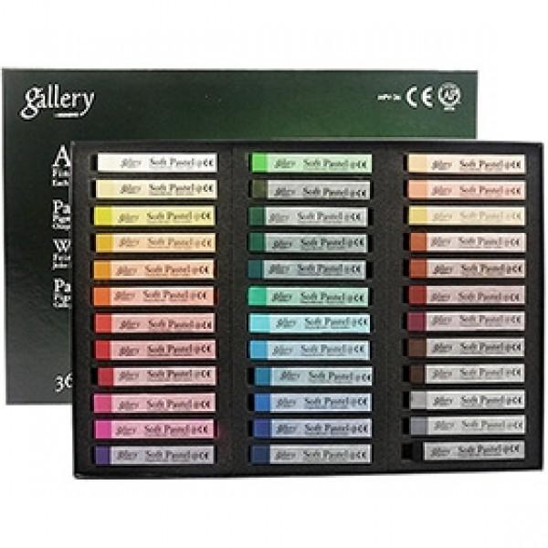 """Набор мягкой сухой пастели Mungyo """"Gallery Artist Soft Pastels"""" 36 цветов"""