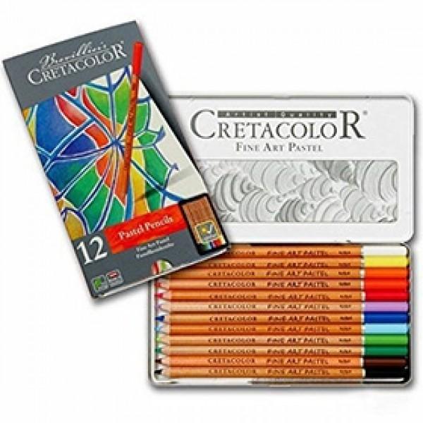 """Набор пастельных карандашей Cretacolor """"FINE ART PASTEL"""" 12 цветов в пенале"""
