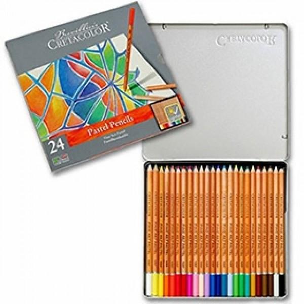 """Набор пастельных карандашей Cretacolor """"FINE ART PASTEL"""" 24 цвета в пенале"""