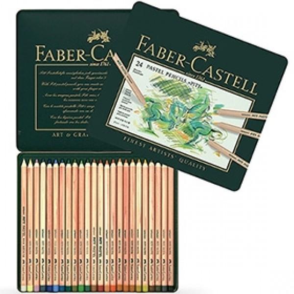 """Набор пастельных карандашей Faber-Castell """"Pitt Pastel"""" 24 цвета в пенале"""