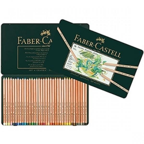 """Набор пастельных карандашей Faber-Castell """"Pitt Pastel"""" 36 цветов в пенале"""