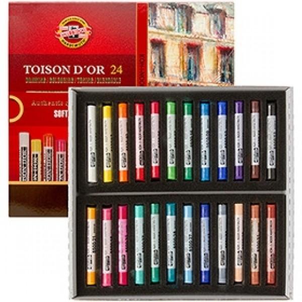 "Набор сухой пастели Koh-I-Noor ""Toison D'or"" Soft Pastels 24 цвета"