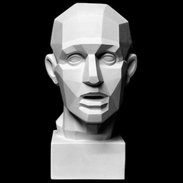 Обрубовка головы по Гудону из гипса