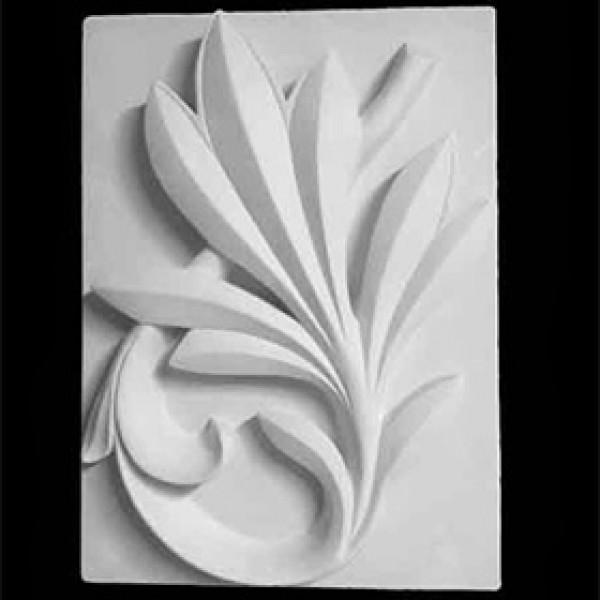 Орнамент Пальмовая ветвь из гипса