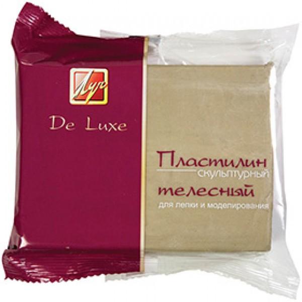 """Пластилин скульптурный твердый """"Люкс"""" телесный, 300гр"""