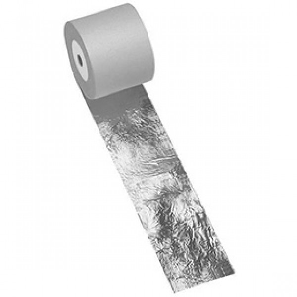 Поталь имитация серебра Nazionale в рулоне 100 мм на 25 метров