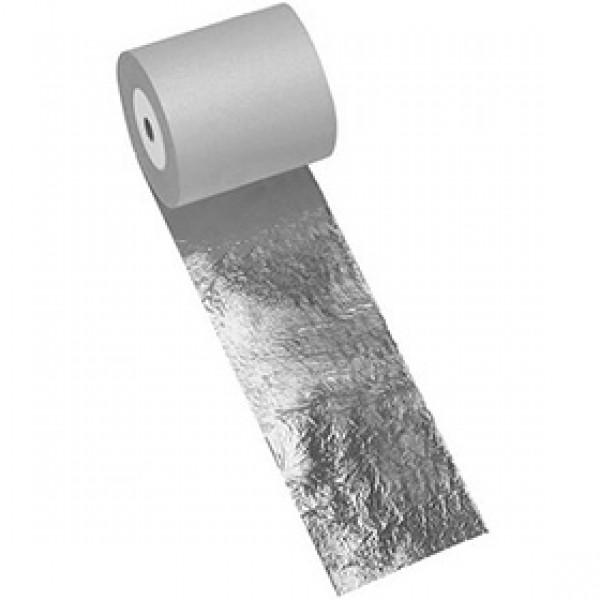 Поталь имитация серебра Nazionale в рулоне 150 мм на 25 метров