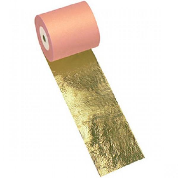 Поталь имитация золота Nazionale № 2,5 в рулоне 150 мм на 25 метров