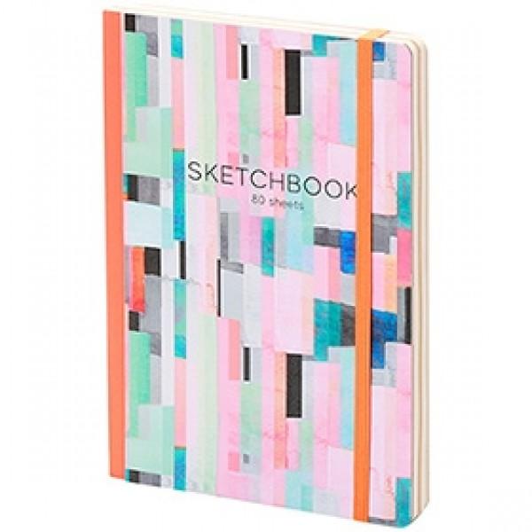 "Скетчбук для рисования Greenwich Line ""Imagination"" А5 14х21см 80 листов"