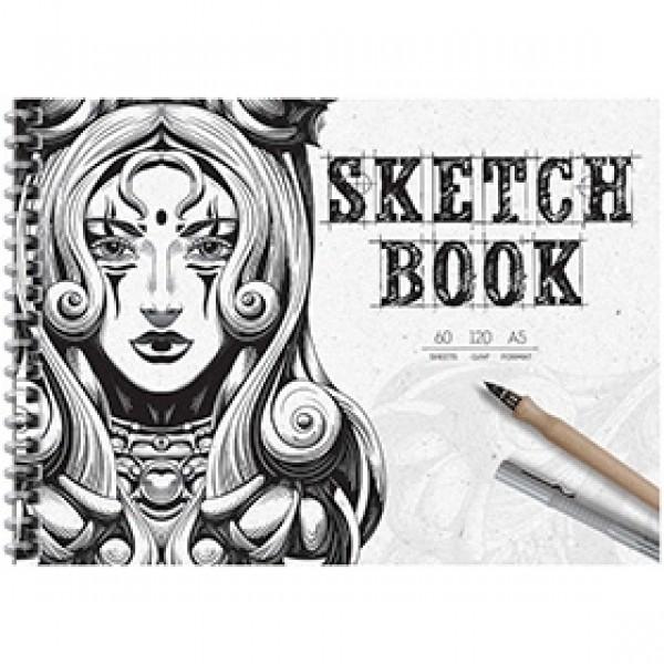 """Скетчбук для рисования ArtSpace """"Graphic Arts"""" А5 60 листов"""