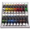 Набор акриловых красок BRAUBERG 18 цветов 12мл профессиональная серия