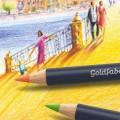 """Набор цветных карандашей Faber-Castell """"Goldfaber"""" 12 цветов в пенале"""