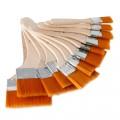 Набор флейцев из синтетики для живописи 12шт
