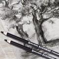 """Угольный карандаш """"BRAUBERG ART CLASSIC"""" средней мягкости"""