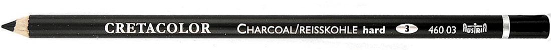 """Угольный карандаш Cretacolor """"Charcoal"""" 03 твердый"""